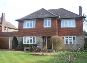 Thumbnail 3 bed detached house to rent in Hurst Green, Oxted, Surrey
