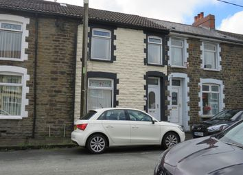 Thumbnail 3 bed terraced house for sale in Francis Street, Bargoed