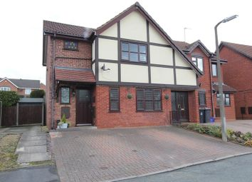Thumbnail 3 bed semi-detached house for sale in Bircham Walk, Clayton, Newcastle-Under-Lyme