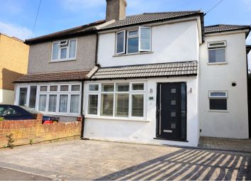Thumbnail 3 bed semi-detached house for sale in Olron Crescent, Bexleyheath