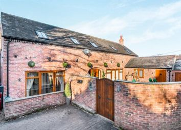 Thumbnail 3 bedroom barn conversion for sale in Watling Street, Cannock, Staffordshire