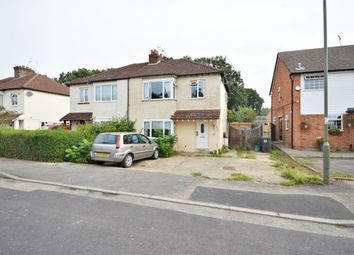 Thumbnail 4 bed semi-detached house for sale in Kings Road New, Haw, Addlestone, Surrey
