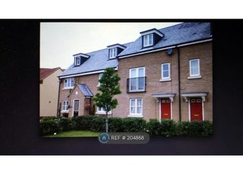 Thumbnail 4 bedroom terraced house to rent in Woodpecker Way, Cambridge