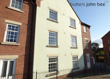 Thumbnail 2 bed flat for sale in Kenilworth Court, Stone, Staffordshire