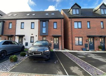 Thumbnail 3 bed semi-detached house for sale in Ffordd Penrhyn, Barry