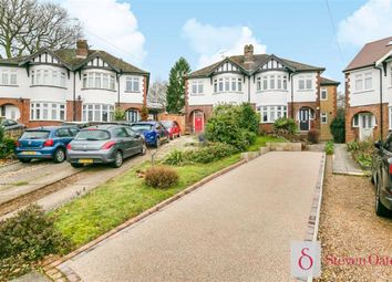 Thumbnail 4 bed semi-detached house for sale in North Road Avenue, Hertford, Herts