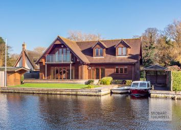 Thumbnail 3 bed detached house for sale in Willow Lodge, Ferry Cott Lane, Horning, Norfolk