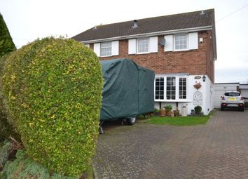 Thumbnail 3 bed semi-detached house for sale in Snetterton Close, Parklands, Northampton