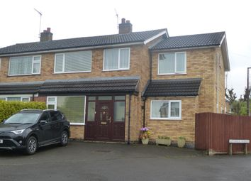Thumbnail 4 bed semi-detached house for sale in Hill View Drive, Cosby, Leicester
