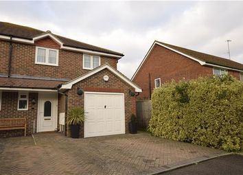 Thumbnail 3 bed semi-detached house for sale in Tamarisk Gardens, Bexhill-On-Sea, East Sussex