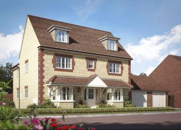 "Thumbnail 5 bed detached house for sale in ""Stratford"" at High Street, Watchfield, Swindon"