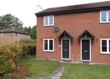 Thumbnail 2 bed semi-detached house for sale in Oak Close, Fornham St. Martin, Bury St. Edmunds