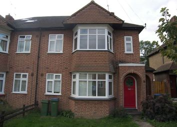 Thumbnail 2 bedroom maisonette to rent in Warwick Road, Thames Ditton, Surrey