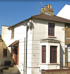 Thumbnail 2 bed terraced house to rent in Dover Road, Northfleet, Gravesend