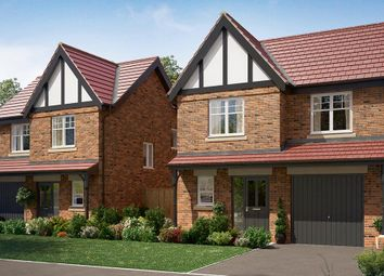 "Thumbnail 3 bed detached house for sale in ""The Newton"" at Wingfield Road, Alfreton"