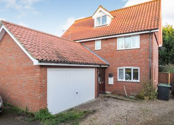 Thumbnail 5 bed detached house for sale in Cromer Road, North Walsham