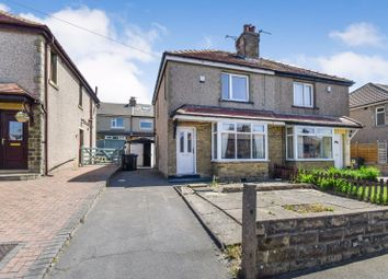Thumbnail 3 bed semi-detached house for sale in Claremont Road, Shipley