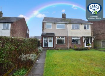 Thumbnail 3 bed semi-detached house for sale in Angela Avenue, Potters Green, Coventry