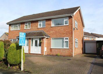 Thumbnail 3 bed semi-detached house for sale in Alberbury Drive, Shrewsbury