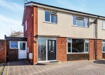 Thumbnail 3 bed semi-detached house for sale in Harvard Avenue, Honeybourne, Evesham, Worcestershire