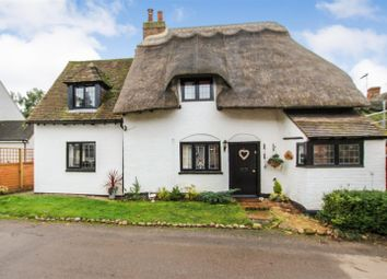 Thumbnail 3 bed detached house for sale in Post Office Lane, Hoggeston, Buckingham