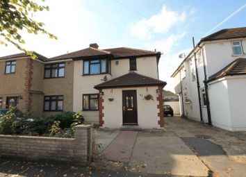 Thumbnail 4 bed semi-detached house for sale in Elms Farm Road, Hornchurch