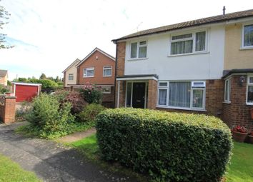 Thumbnail 3 bed end terrace house to rent in Grindstone Crescent, Knaphill, Woking