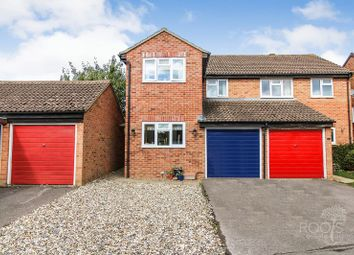 Thumbnail 3 bed semi-detached house for sale in Keighley Close, Thatcham