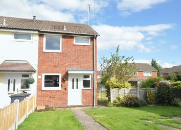 Thumbnail 2 bed end terrace house for sale in Oak Close, Uttoxeter