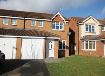Thumbnail 3 bed semi-detached house to rent in Armstrong Drive, Willington, Crook