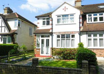 Thumbnail 3 bed end terrace house for sale in Green Lanes, West Ewell, Epsom
