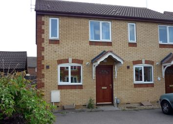 Thumbnail 2 bedroom end terrace house to rent in Dorling Way, Brampton