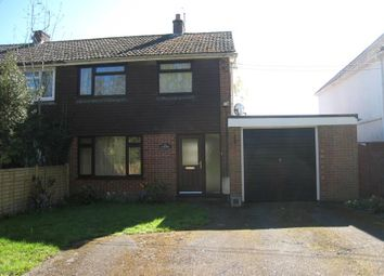 Thumbnail 3 bed semi-detached house to rent in Greensward Lane, Arborfield
