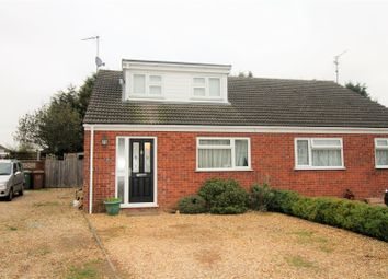 Thumbnail 3 bed semi-detached bungalow for sale in Orchard Way, Terrington St. John, Wisbech