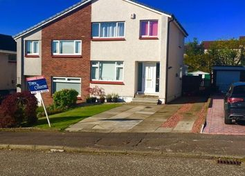 Thumbnail 3 bed semi-detached house for sale in Moray Place, Kirkintilloch, Glasgow