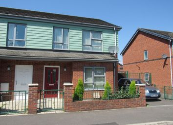 Thumbnail 3 bed semi-detached house for sale in Foxfield Road, Manchester