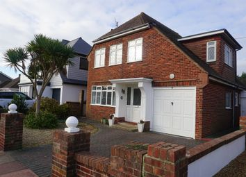 Thumbnail 4 bed detached house for sale in Seafield Avenue, Goring-By-Sea, Worthing