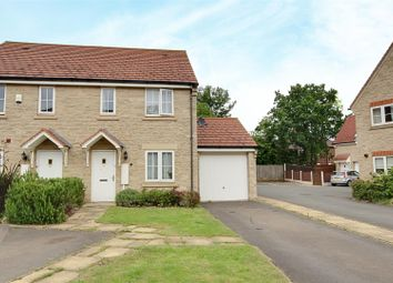 Thumbnail 3 bed semi-detached house for sale in Linnet Way, Hucknall, Nottingham