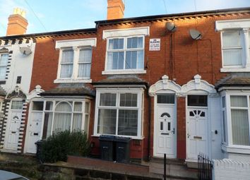 Thumbnail 3 bed terraced house to rent in Ashbourne Road, Edgbaston