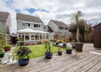 Thumbnail 4 bed detached house for sale in Frensham Avenue, Plymouth