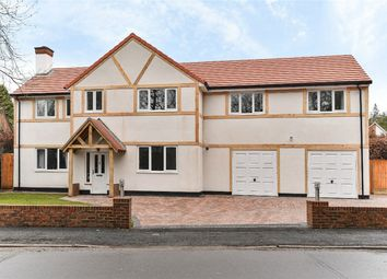 Thumbnail 5 bed detached house to rent in Lime Avenue, Camberley, Surrey