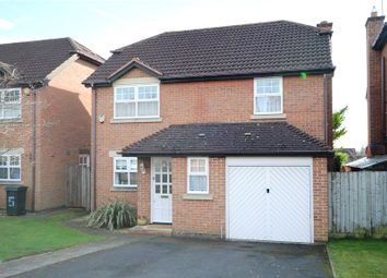 Thumbnail 4 bed detached house for sale in Fairfax Close, Caversham, Reading