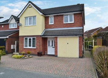 Thumbnail 4 bed detached house for sale in Parklands Drive, Aspull, Wigan