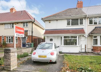 Thumbnail 2 bed end terrace house for sale in Warwick Street, Wolverhampton