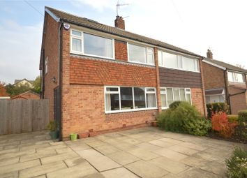 Thumbnail 3 bed semi-detached house for sale in Victoria Mount, Horsforth, Leeds, West Yorkshire