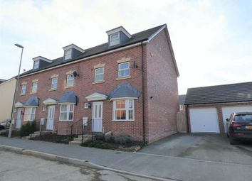 Thumbnail 4 bed end terrace house for sale in Swannington Drive Kingsway, Quedgeley, Gloucester