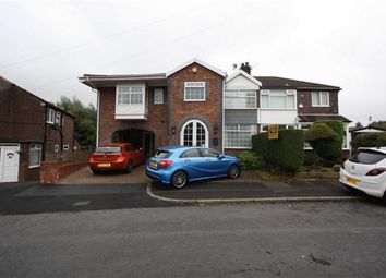 Thumbnail 5 bed semi-detached house for sale in Windsor Crescent, Prestwich