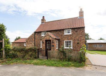Thumbnail 3 bed cottage for sale in Back Lane, Raskelf, York