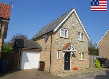 Thumbnail 4 bedroom detached house to rent in Threshers Yard, Mildenhall, Bury St. Edmunds