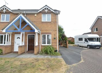 Thumbnail 2 bed semi-detached house for sale in Woodale Close, Scunthorpe